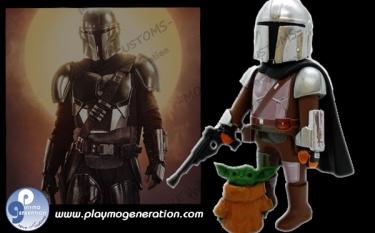 The Mandalorian  | Custom Playmobil