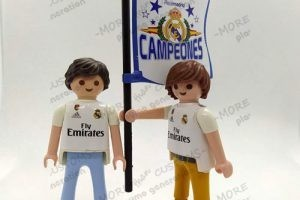 aficionado futbol real madrid custom palymobil playmo generation 1