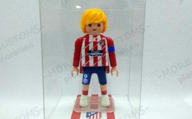 Fernando Torres Atlético Madrid Custom Playmobil