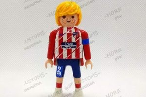 fernando torres atletico madrid custom playmobil playmo geneartion 6