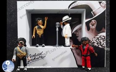 Michael Jackson Custom Playmobil