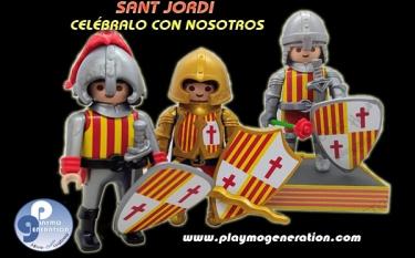 Sant Jordi  | Custom Playmobil