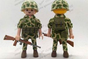 americanos-segunda-guerra-mundial-custom-playmobil-playmo-generation 1