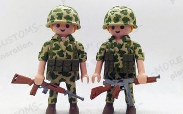 Soldado Americano | Custom Playmobil