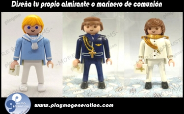 Comunión | Almirante | Marinero  | Custom Playmobil
