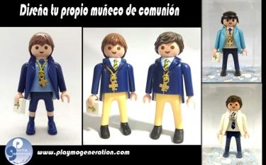 Comunión | Niño Traje | Custom Playmobil