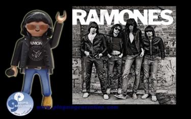 Ramones | Custom Playmobil