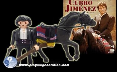 Curro Jiménez | Custom  Playmobil