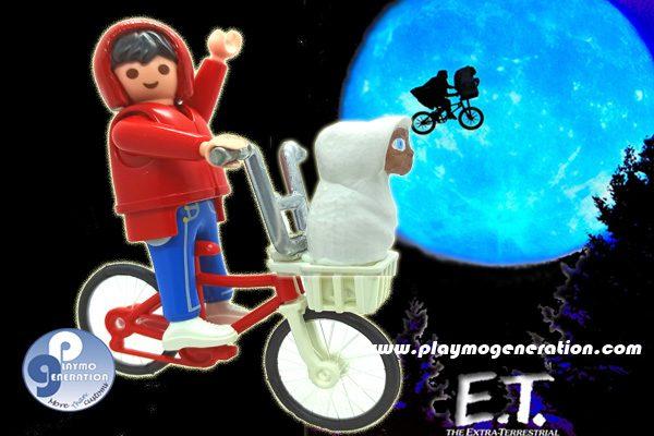 playmobil personalizado E.T. el extraterrestre elliot custom playmo generation 12